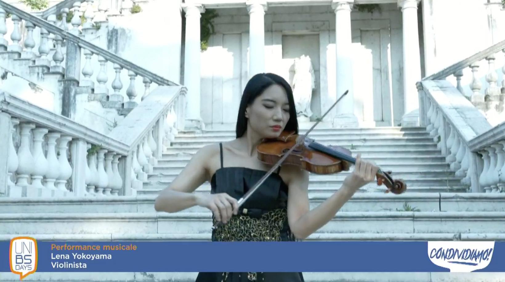 Lena Yokoyama, violinista