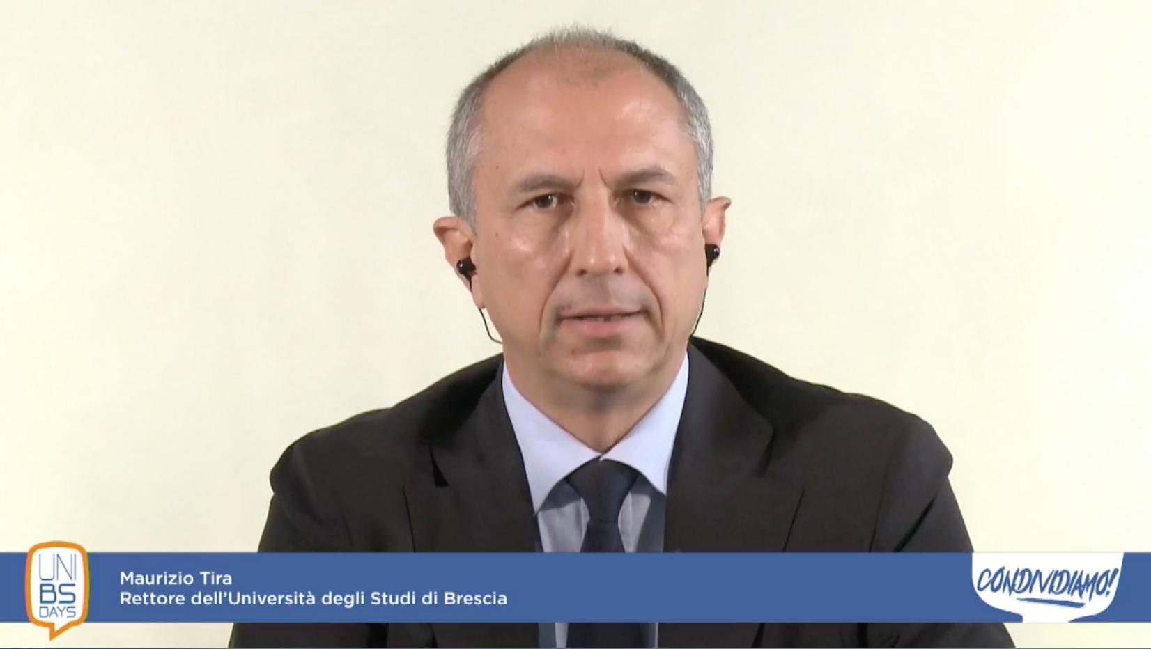 Maurizio Tira, rettore dell'Università degli Studi di Brescia